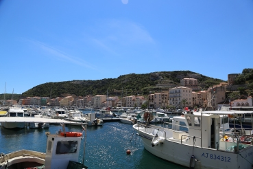 Harbor in Bonifacio